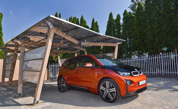 BMW South Africa Solar Carport Solar PV