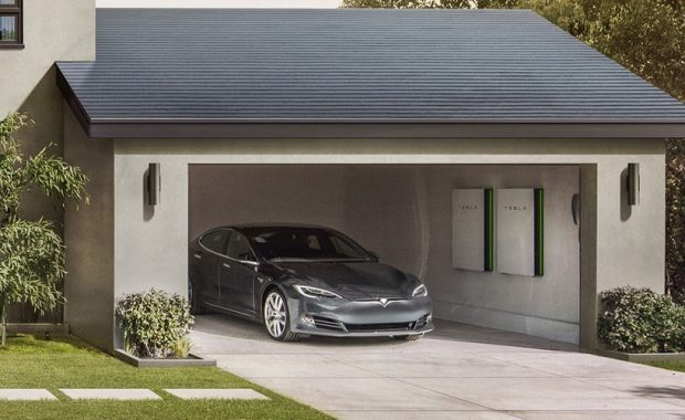 Production Tesla Solar Roof Tiles