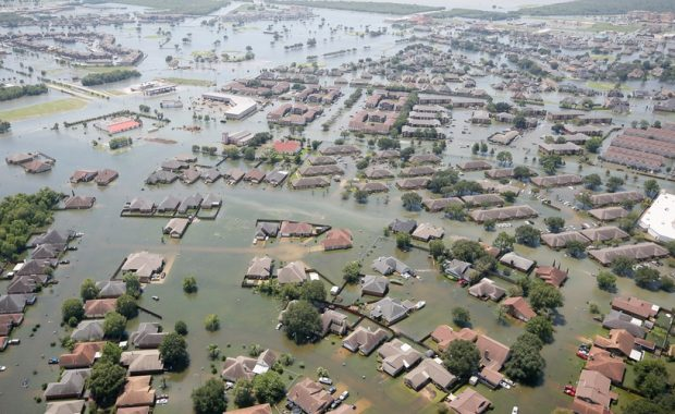 Hurricane Harvey is an example of how expensive climate change will be